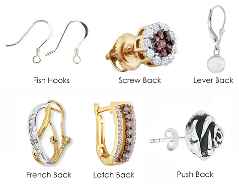Types Of Earring Stud Backs