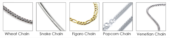 A link by link guide to chains hammer gem common types of chains aloadofball Gallery