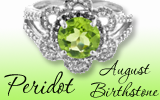 Birthstone for August – Peridot