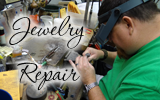 We can do on site Jewelry Repair!