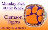 Monday Pick of the Week – ClemsonJewelry