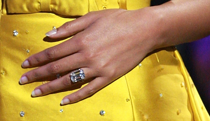 Celebrity Engagement Rings – Bold and Fabulous ...