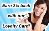 Have you updated your info on your Loyalty Card?
