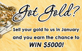 Last Day to enter to win the $5000 Gold BuyGiveaway!