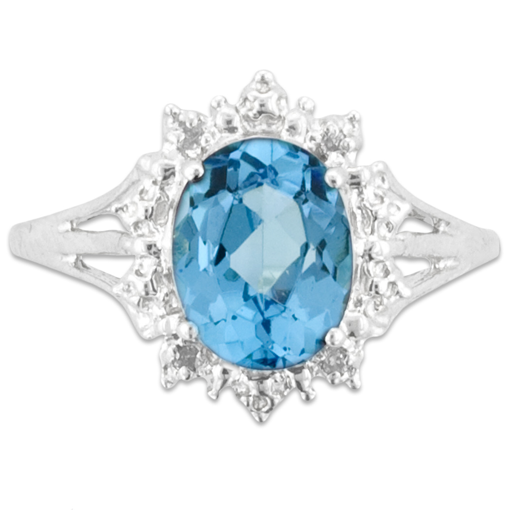 aquamarine birthstone silver image march women pandora john rings ring