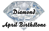 April's Birthstone is theDiamond!