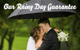 If it rains 1″ or more on your wedding day, you will get your diamond ring for FREE!