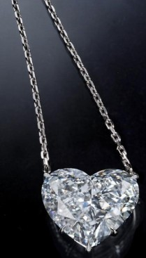 11.62-Carat D internally flawless diamond in platinum.