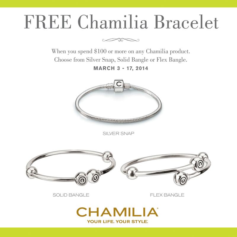 c21a73d2fecc8 FREE Chamilia Bracelet   Satterfield's Jewelry Warehouse Blog