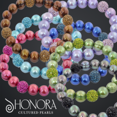 Honora Pearls! - Available in stores or online. http://www.jewelrywarehouse.com