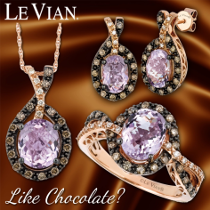 Like Chocolate? See our large selection of Le Vian jewelry in stores or online. http://www.jewelrywarehouse.com