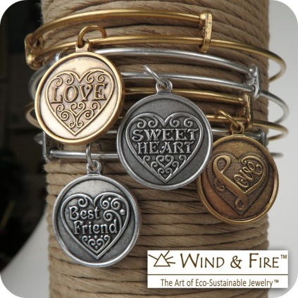The Wind and Fire Valentine's Collection - - Available in stores or online. http://www.jewelrywarehouse.com