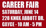 Career Fair this Saturday, June14th
