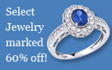 Select Jewelry WELL BELOW COST at 60%off!