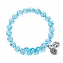 Fire Aqua Crystal Bracelet $34