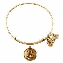 Keep Calm Charm Bracelet $24.99