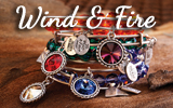New Wind and Fire Bracelets