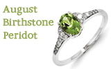 August Birthstone – The beautiful Peridot