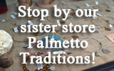 Jewelry at our sister store Palmetto Traditions!