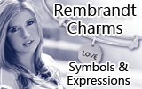 Rembrandt Charms – Symbols & Expressions