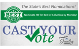 "Vote for us in ""The Best of"" Columbia!"