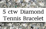 5 ctw Diamond Tennis BraceletSpecial
