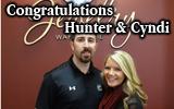 Congratulations to Hunter & Cyndi – our newest Rainy Day GuaranteeWinners!