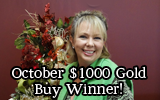 Our October $1000 Gold BuyWinner!