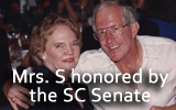 Mrs. Satterfield has been recognized and honored by our SC Senate!