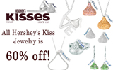 Hershey's Kiss Jewelry is 60% off!