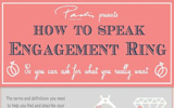 How to Speak Engagement Ring – Infographic