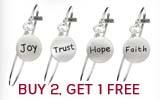 Buy 2, Get 1 FREE Inspirational DiscBracelets!