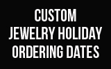Get your custom items ordered in time for Christmas!