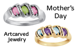 Order your Mother's Day Artcarved Rings now!